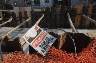 Desagüe Espora: aún no reincorporan a los 24 obreros; otro cuarto intermedio -