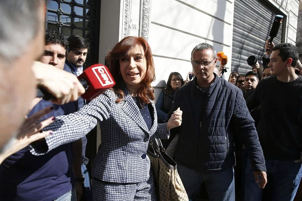 Cristina Kirchner negó cualquier vínculo con el lavado de dinero
