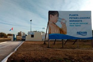 Comienza a distribuir agua potable la nueva planta de Santa Fe -