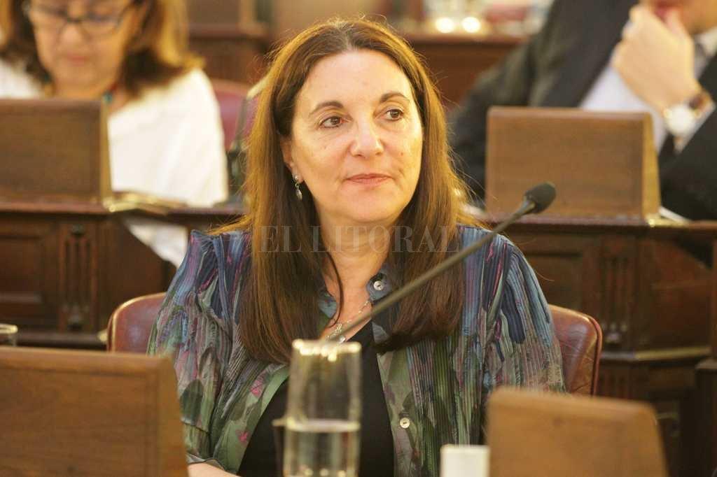 La diputada provincial Verónica Benas (Pares) habló del empresario Gabriel Romero, uno de los arrepentidos. Crédito: Luis Cetraro