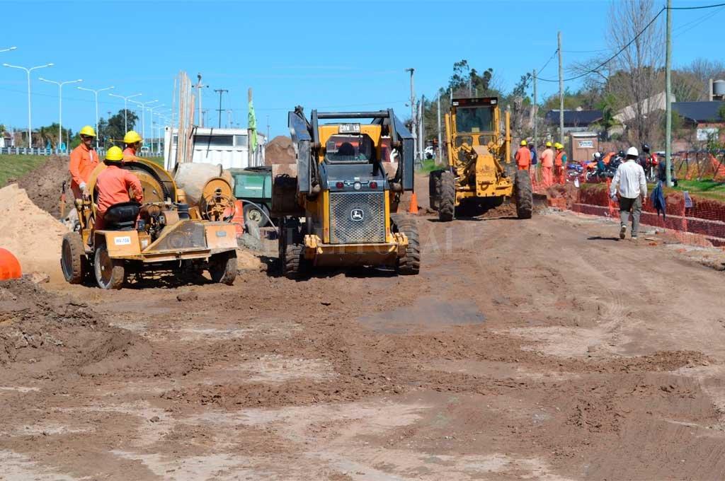 Continúan los trabajos complementarios en la Ruta Provincial 1