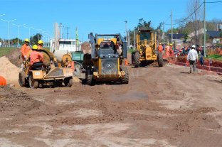 Continúan los trabajos complementarios en la Ruta Provincial 1 -  -