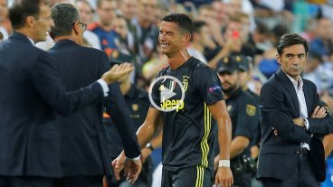 Cristiano Ronaldo fue expulsado injustamente y se largó a llorar -  -