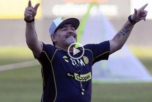 """""""El Diego de Sinaloa"""": La canción que le hicieron los mexicanos a Maradona"""