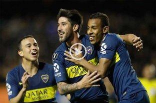 Boca sacó ventaja en la ida ante Cruzeiro