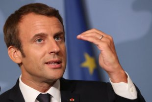 """""""Brexit"""": Macron pidió a Londres una nueva propuesta sobre la frontera irlandesa"""