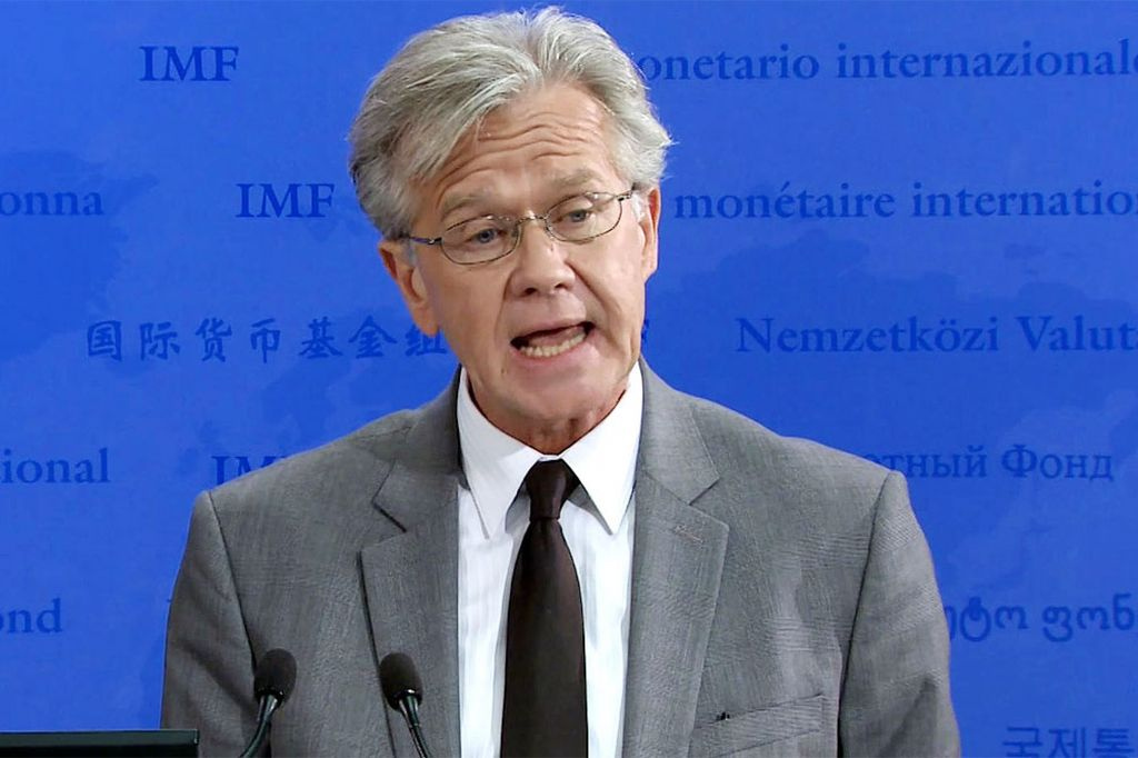 Gerry Rice, vocero del FMI. <strong>Foto:</strong> Internet