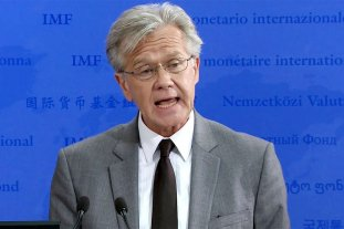 """FMI: Se lograron """"importantes progresos"""" en la negociación con Argentina - Gerry Rice, vocero del FMI. -"""