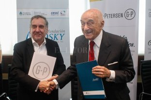 Convenio de colaboración entre las fundaciones Grupo Petersen y Sadosky -  -