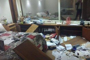 Se robaron 10 millones de pesos de una casa ubicada frente a la Agencia Federal de Inteligencia