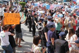 Se realizaron manifestaciones a favor y en contra de la Educación Sexual Integral -  -