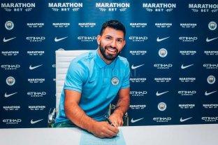 Kun Agüero extendió su vínculo con Manchester City