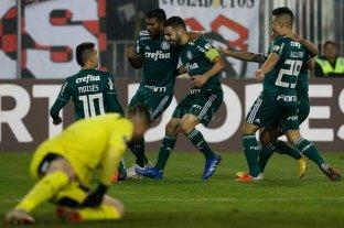 Palmeiras se impuso de visitante ante Colo Colo