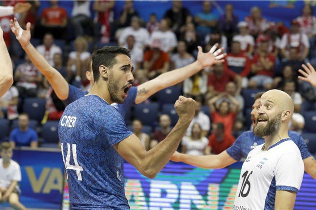 Argentina dio la sorpresa y venció a Polonia, último campeón del mundo