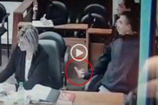 Video: Lo condenaron por homicidio y provocó a familiares de la víctima