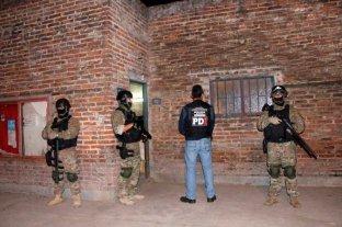 Múltiples allanamientos en Santa Fe  -