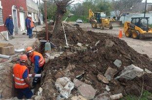 Nuevas redes de cloacas para los barrios San Lorenzo y Chalet