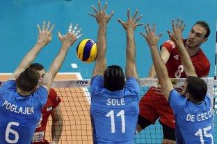 Mundial de Voley: Argentina cayó ante Serbia y se quedó sin chances de pasar de fase -  -
