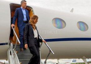 Macri arribó a Nueva York con una cargada agenda -  -