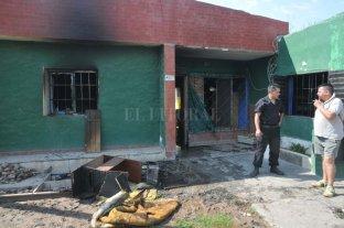 Incendio fatal en Santo Tomé