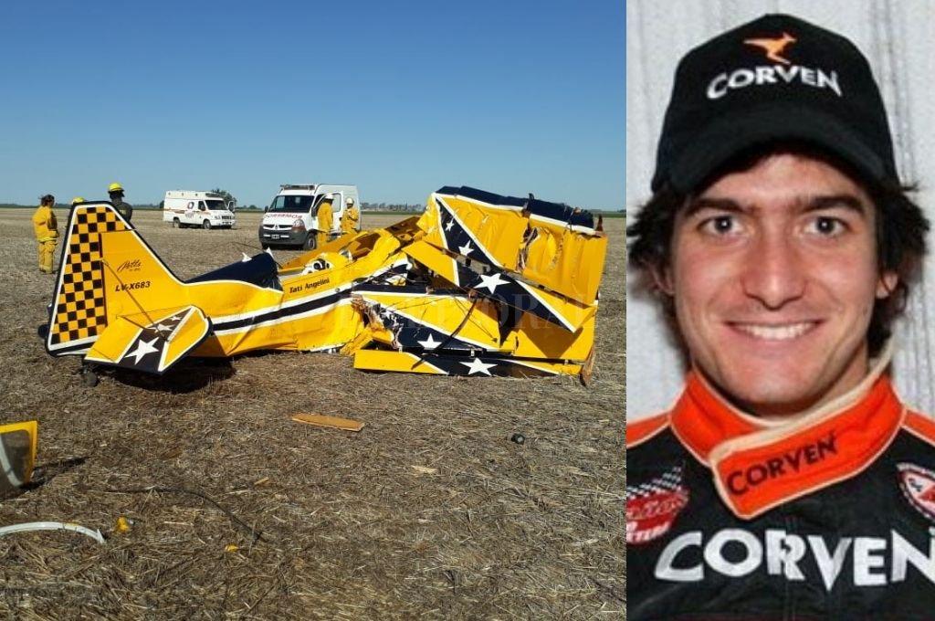 Turismo Carretera: el piloto santafesino Juan Marcos Angelini murió en un accidente aéreo