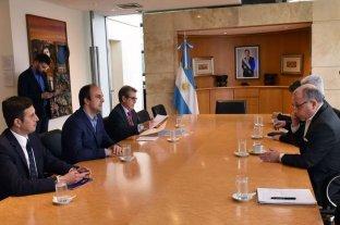 """""""Santa Fe tiene todas las condiciones  para realizar la Cumbre del Mercosur"""" - El intendente le aseguró al canciller que la ciudad cuenta con la infraestructura y los servicios necesarios para estar a la altura de la reunión. -"""