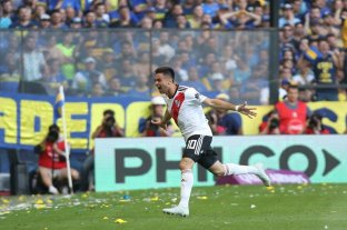 Superclásico: River le ganó a Boca en la Bombonera