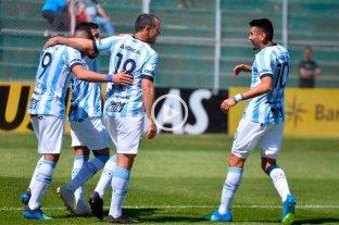 Atlético Tucumán, ganó y es puntero transitorio