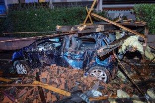 Alemania: primera tormenta otoñal deja un muerto y un herido grave