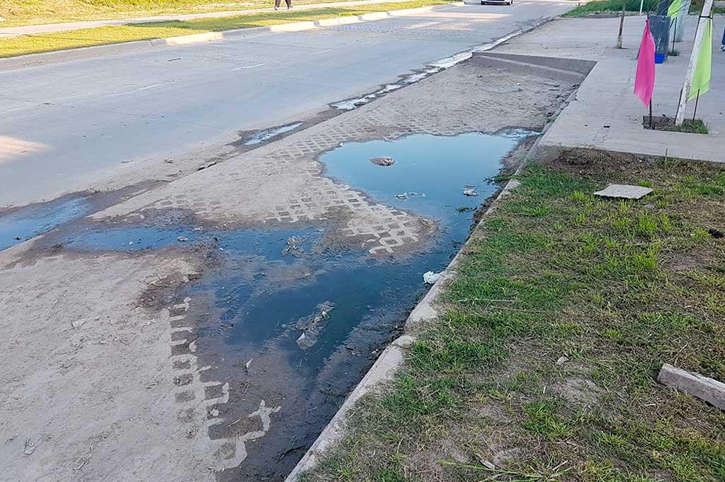 Avenida Peñaloza: Solicitan a la provincia que se rehaga una parte de la obra