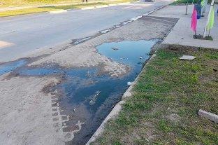 Avenida Peñaloza: Solicitan a la provincia que se rehaga una parte de la obra -  -