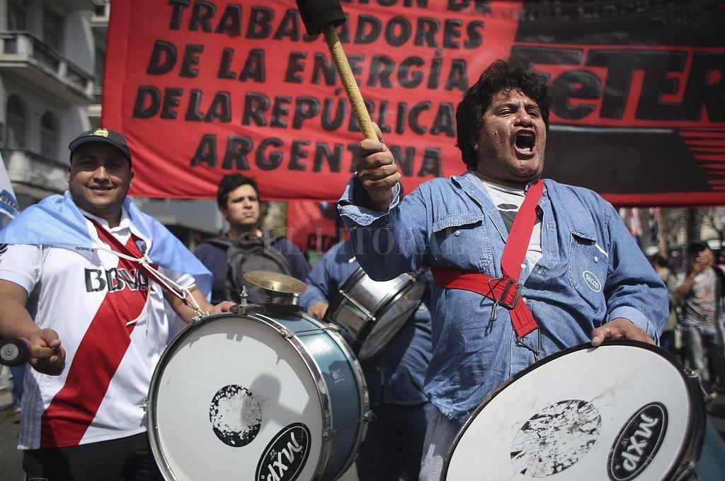 La CGT realiza este martes su cuarto paro general contra el gobierno de Macri