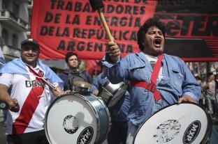 La CGT realiza este martes su cuarto paro general contra el gobierno de Macri -  -
