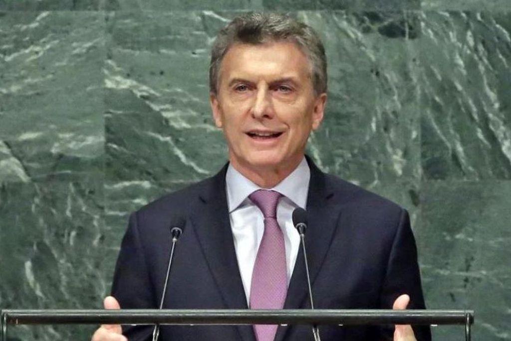 En medio del paro, Macri hablará desde Nueva York
