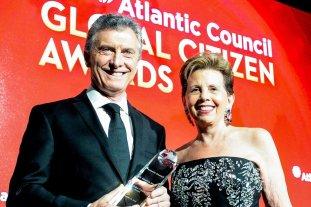 Macri compartió la mesa con Lagarde en la cena del Global Citizen Award - Mauricio Macri fue elegido para recibir el premio Ciudadano Global 2018, en el marco de la cena anual organizada por el Atlantic Council en Nueva York.  -