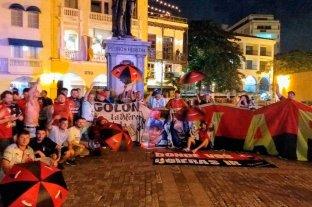 Banderazo sabalero en Colombia