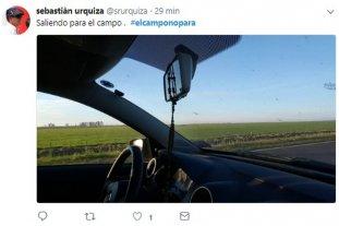#ElCampoNoPara: en las redes, los productores muestran que no se adhieren al paro -  -