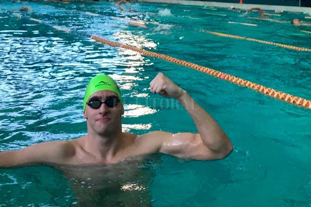 Nuevo récord nacional del sanjustino Gabriel Morelli