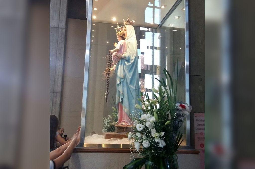 Día de la Virgen de San Nicolás: el paro general impidió a peregrinos llegar al Santuario