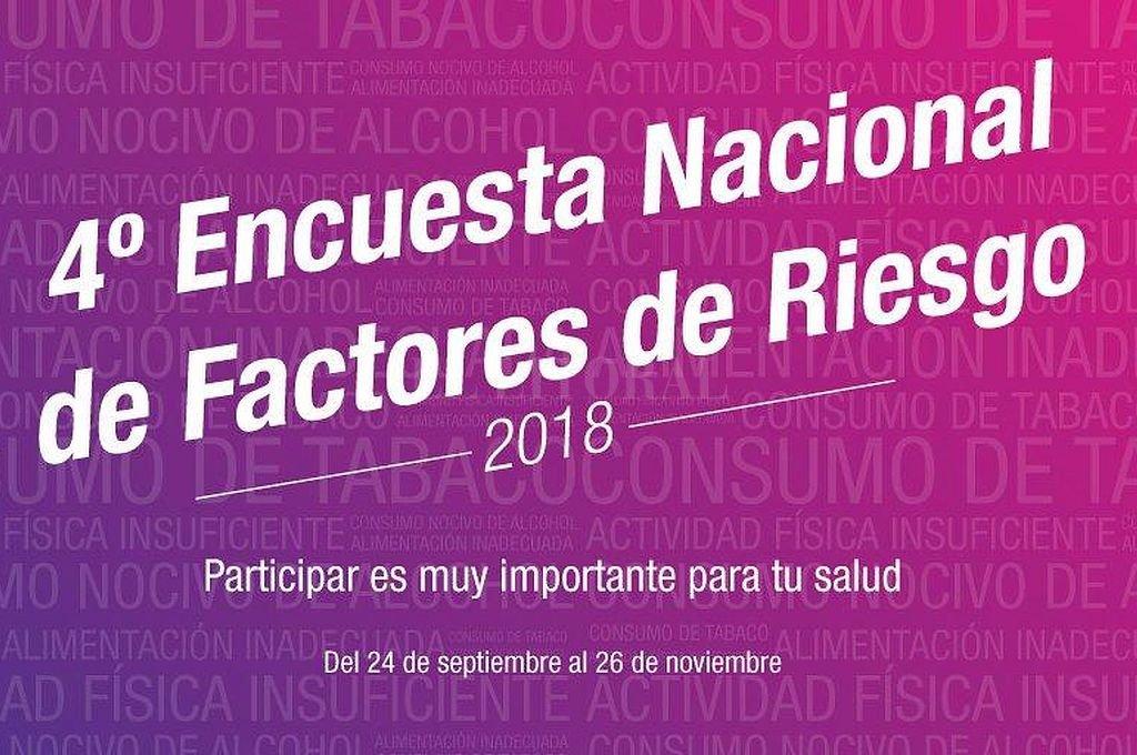 La 4ª Encuesta Nacional de Factores de Riesgo está en marcha