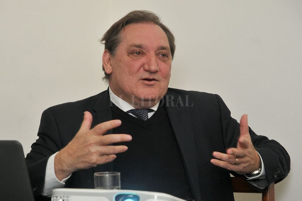 Julio Genesini, ministro de Trabajo y Seguridad Social de la provincia. Crédito: Archivo El Litoral