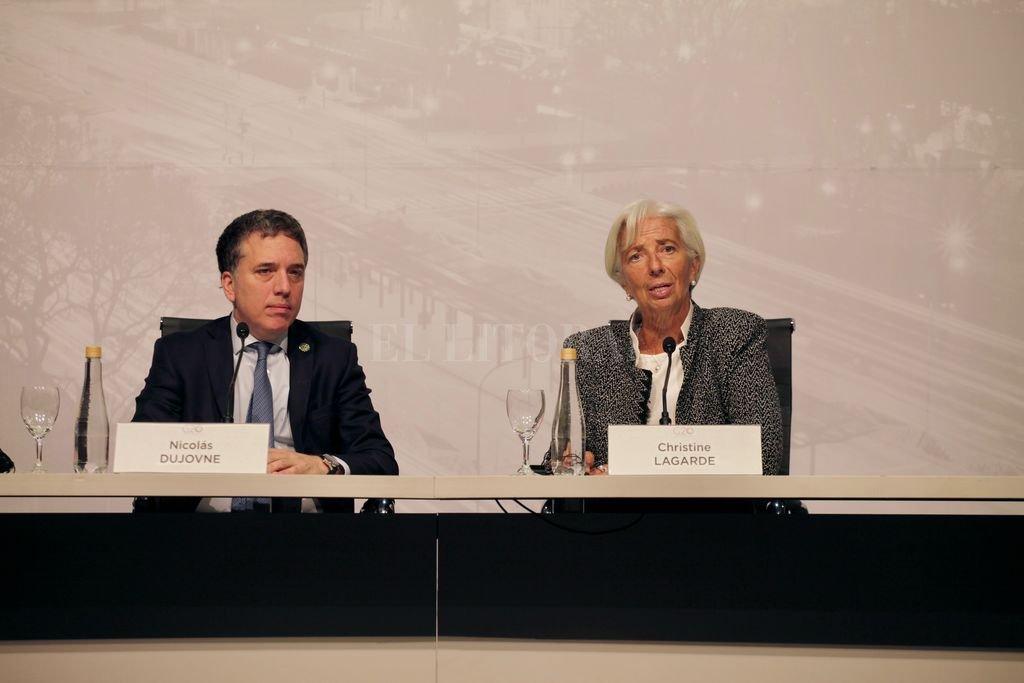 Dujovne anuncia junto a Lagarde el nuevo acuerdo con el FMI