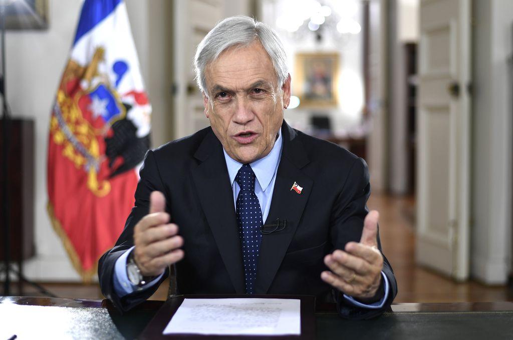 Chile: Piñera anunció un presupuesto restrictivo y con énfasis social  - Sebastián Piñera, presidente de Chile. -