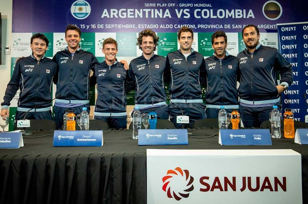 Argentina fue invitada para la fase final de la Copa Davis