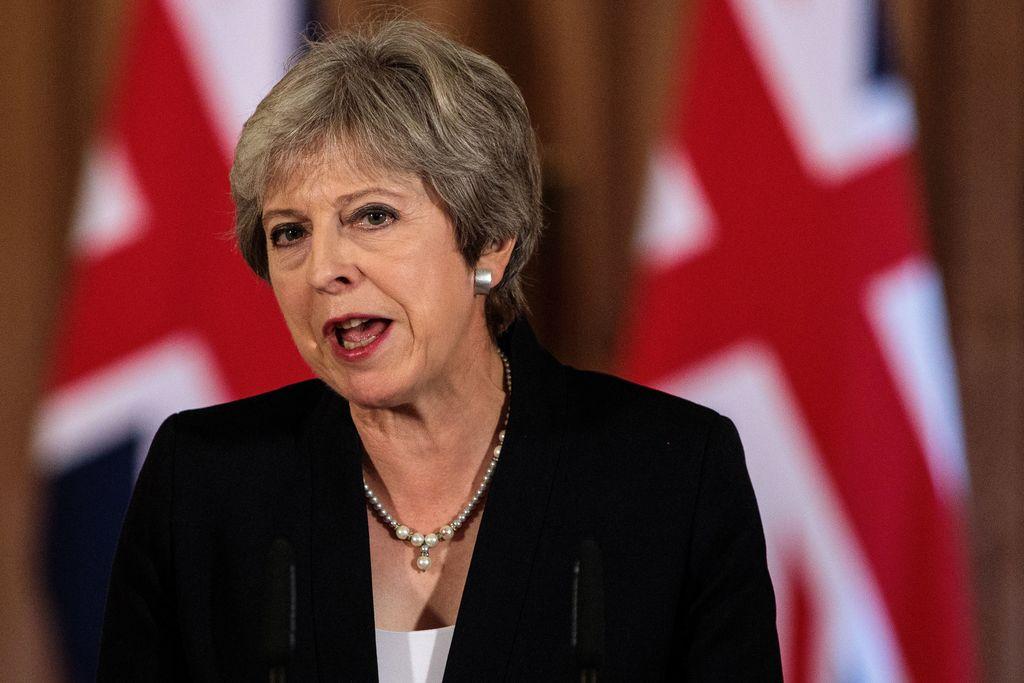 La primera ministra británica, Theresa May. Crédito: Archivo
