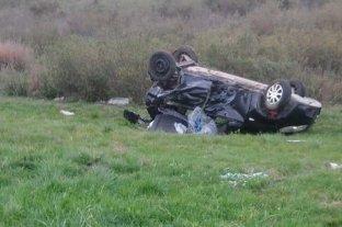 Falleció un conductor tras choque en la autopista Santa Fe - Rosario