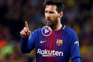 "Se enojó Messi: ""A mi me tratás con respeto"""