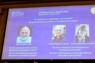 Arthur Ashkin ganó el Nobel de Física con 96 años