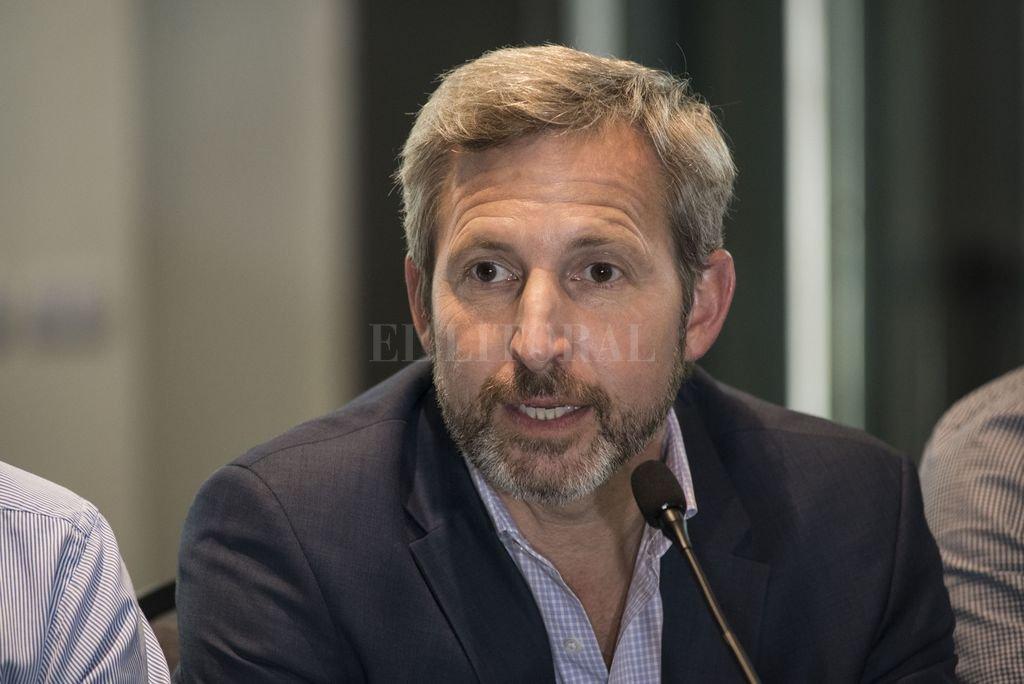 El ministro del interior, Rogelio Frigerio. Crédito: Archivo El Litoral