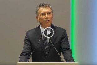 En vivo: Macri participa del cierre del W20